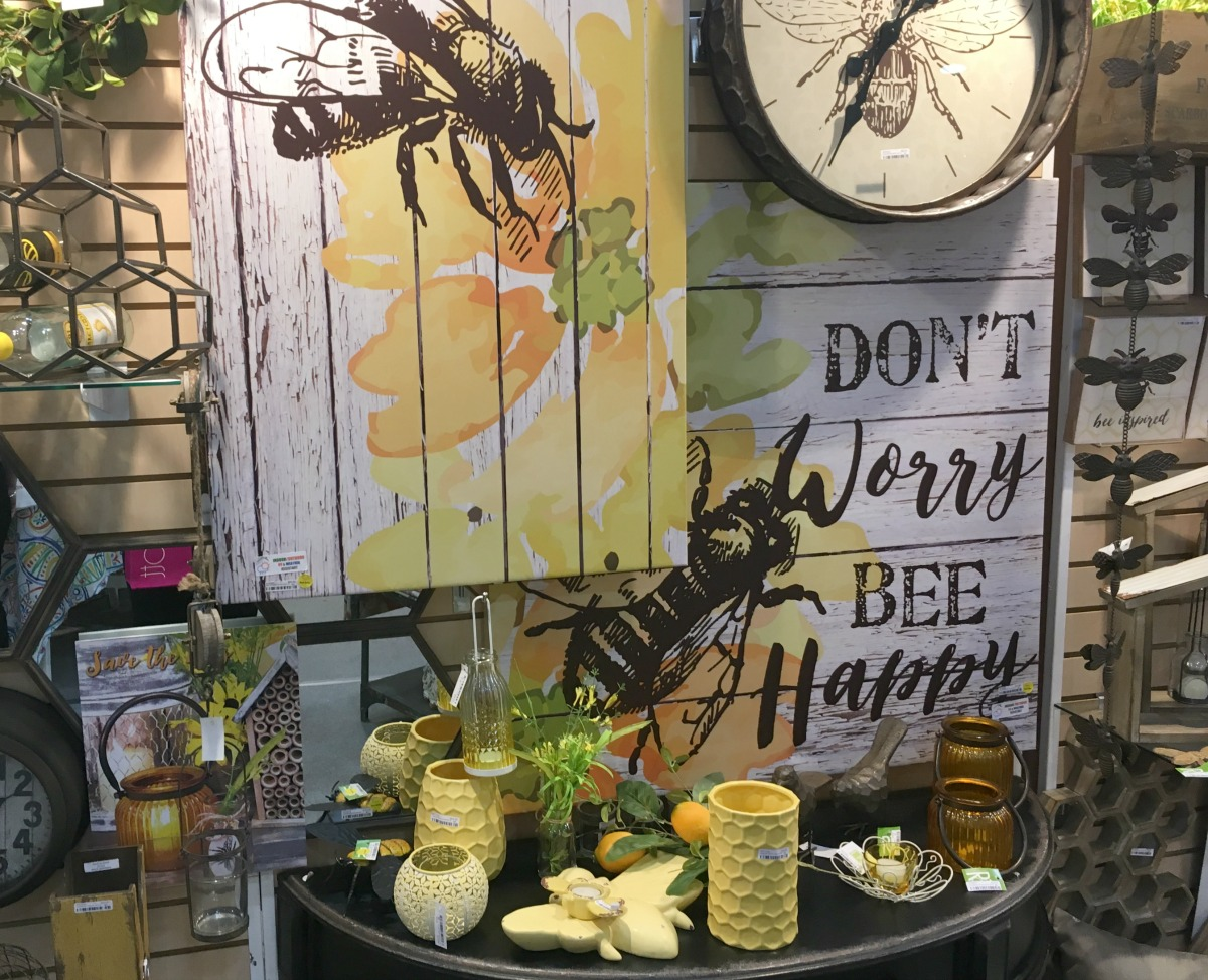 Spring trends home decor bees