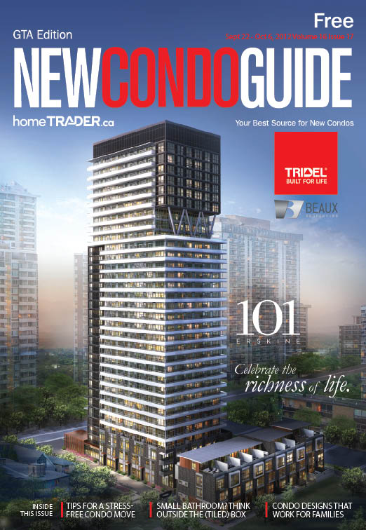 New condo guide Toronto Cover Sept oct 2012