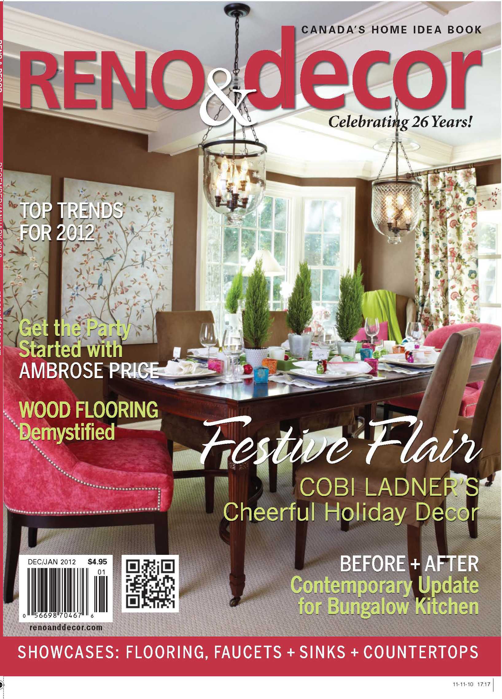 Reno & Decor Dec Jan2012 Cover