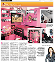 Toronto Sun -Kids Room with Jackie Morra