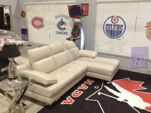 Ottawa Fan Cave Sofa area