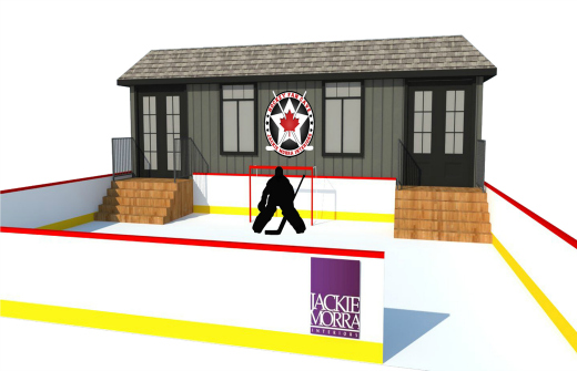 Ottawa Hockey Fan Cave by Jackie Morra Overview