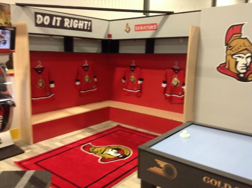 Replica Ottawa Locker Room