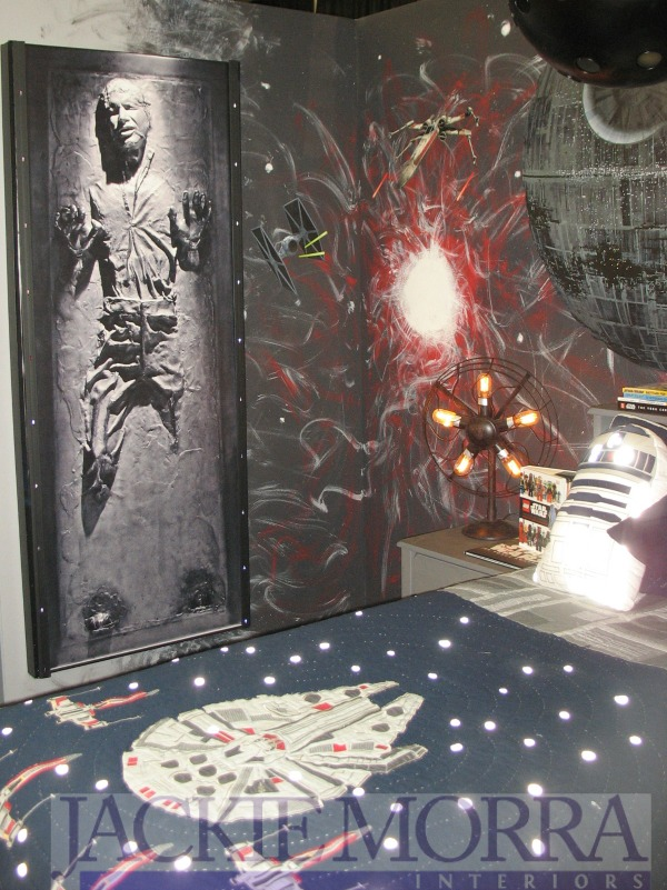 han solo in carbonite wall decor