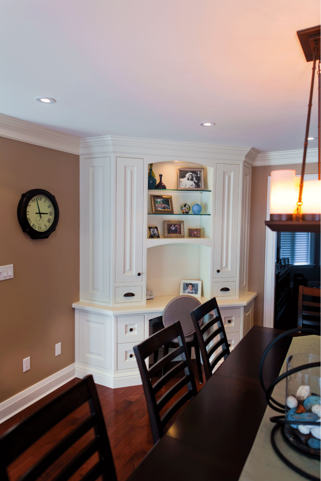 Dining Room Home office Built-Ins