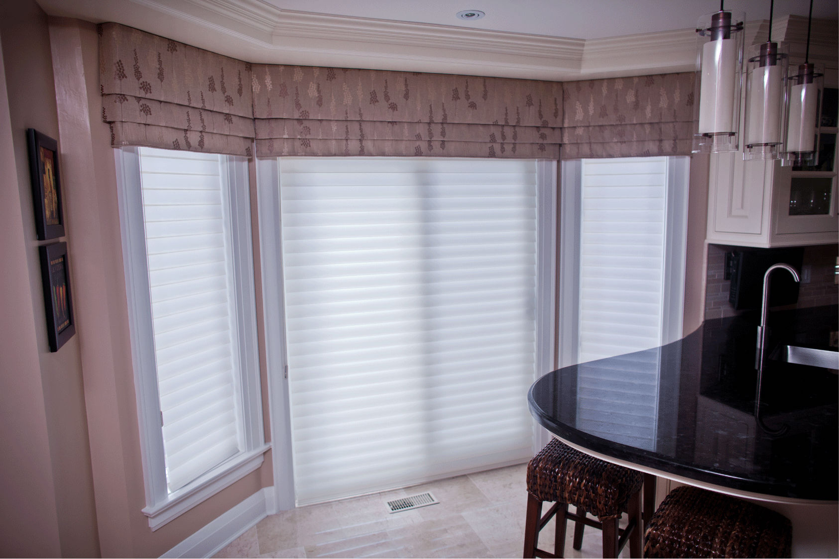 Kitchen Window Coverings Sheer Blinds